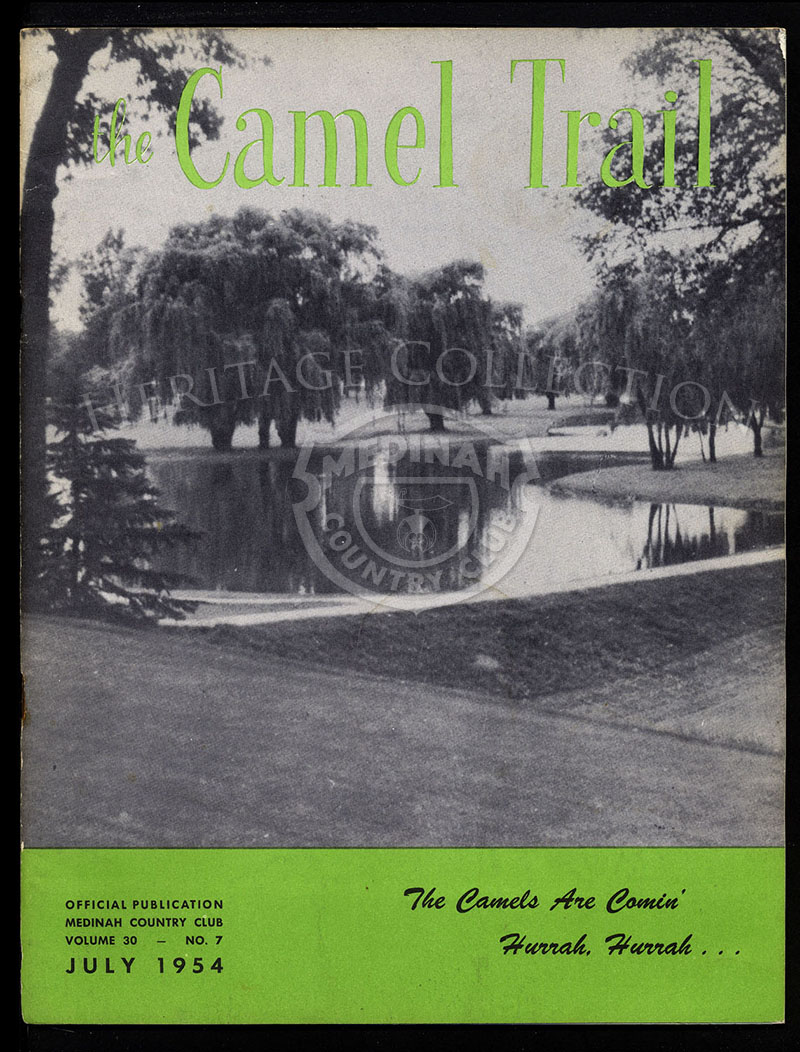 The Camel Trail, Volume 30 No.7, July 1954.