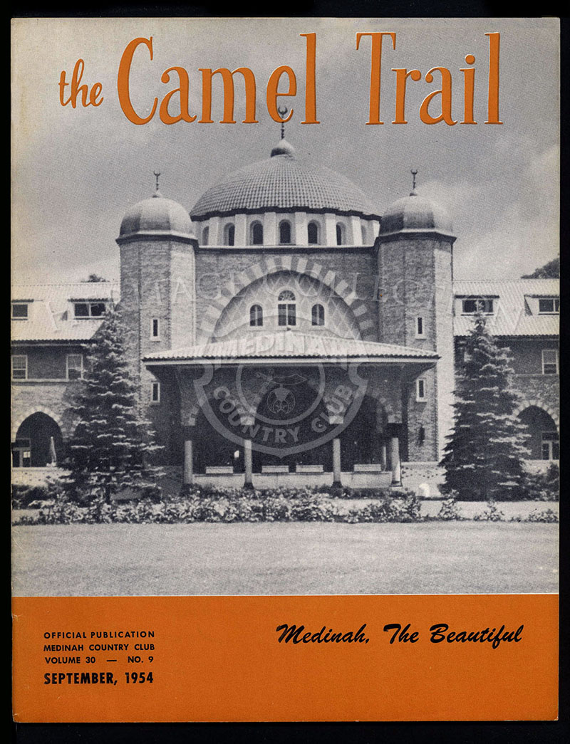 The Camel Trail, Volume 30 No.9, September 1954.