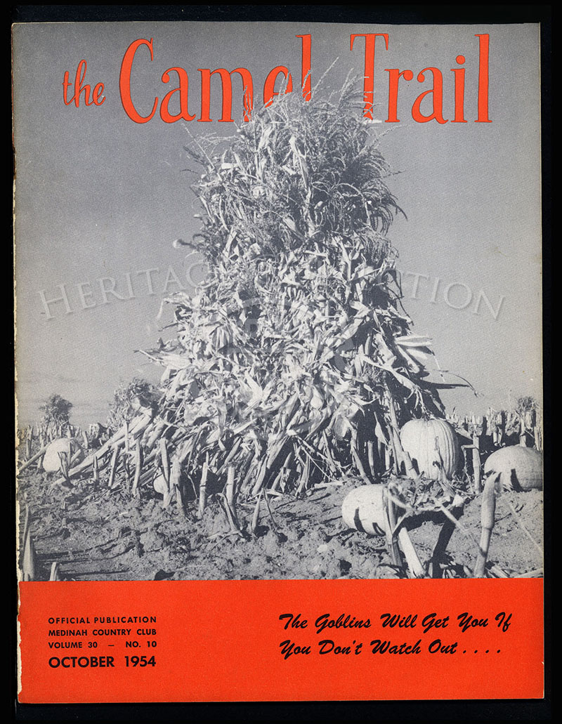 The Camel Trail, Volume 30 No.10, October 1954.