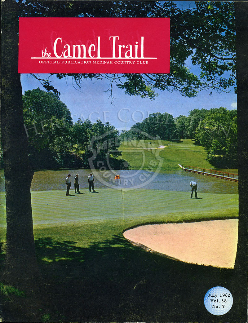 Cover of The Camel Trail. Volume 38 No. 7 July 1962.