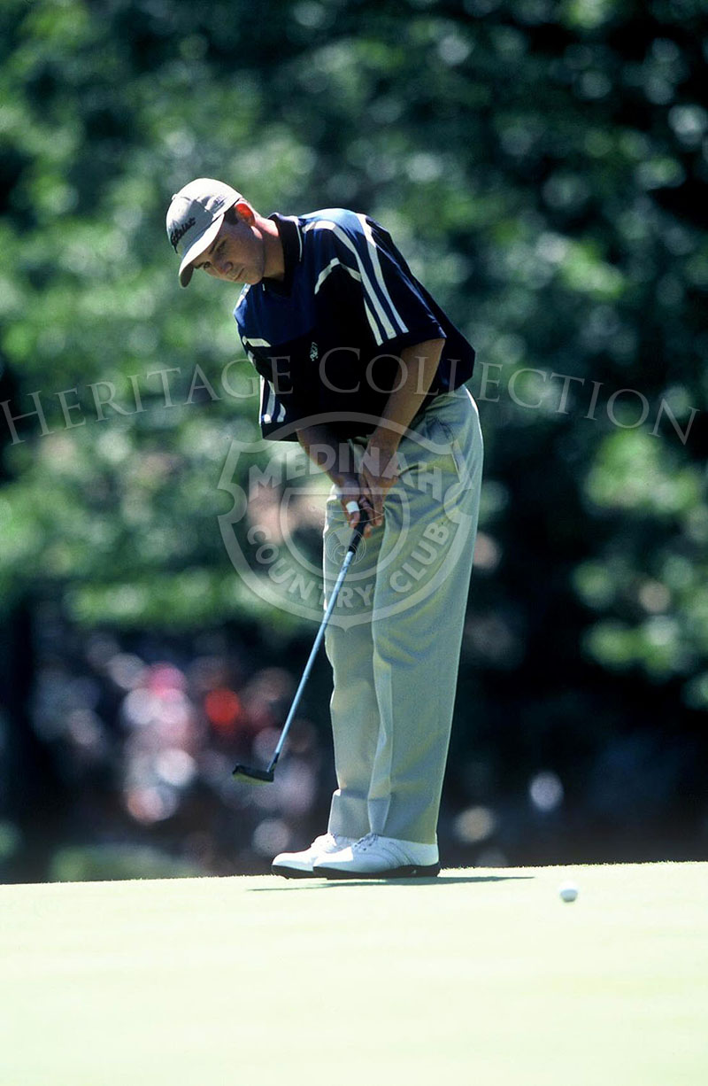 Sergio Garcia, who was 19 years old when he competed at the 81st PGA championship, was the youngest PGA participant since Gene Sarazen in 1921. Garcia finished in second place, with 10 under par for a total score of 278. He was only one stroke behind winner Tiger Woods.