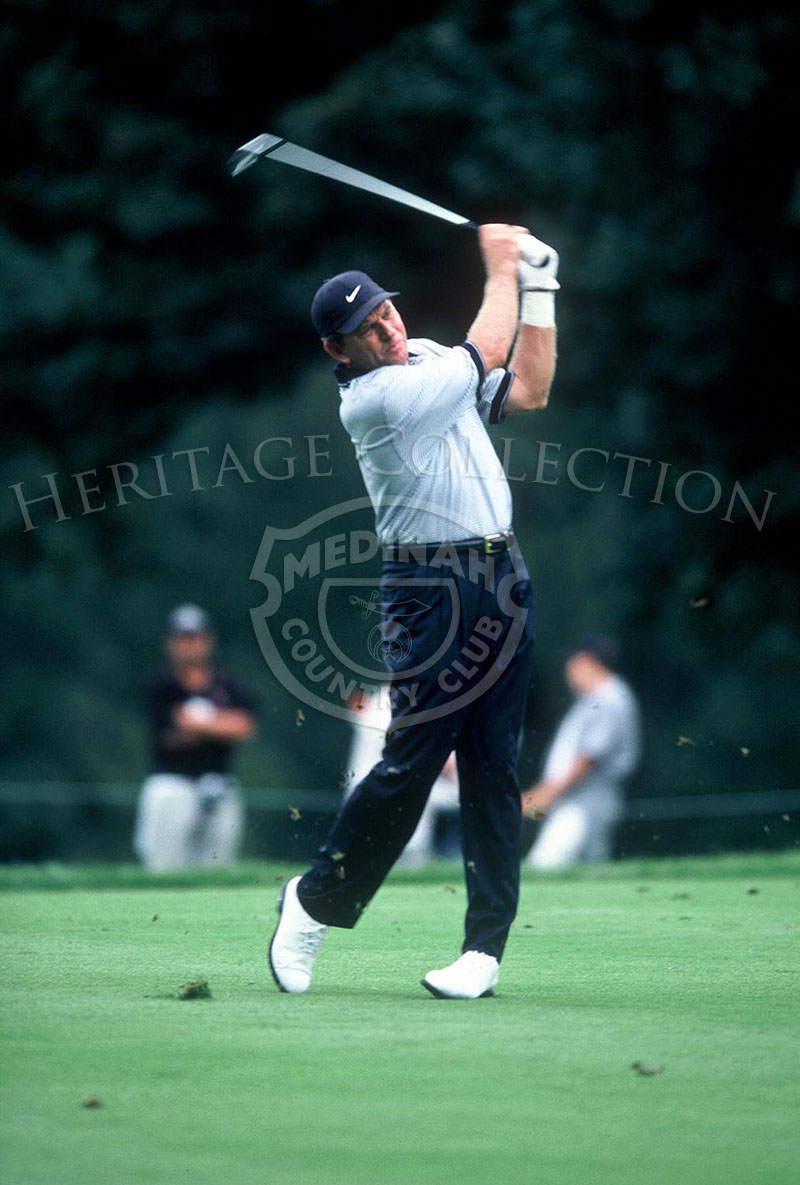 South African professional golfer Nick Price came in 5th-place at the conclusion of the 81st PGA championship. He was 7 under par, with a total score of 281.