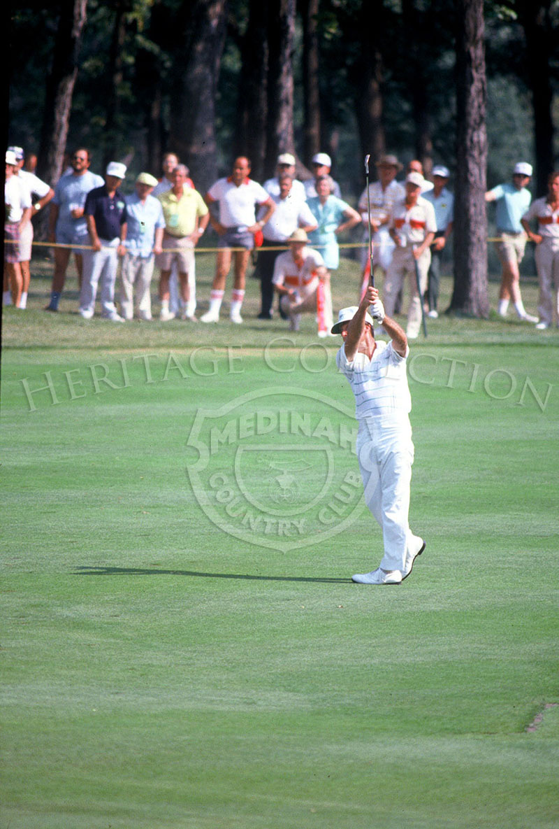 During the 18-hole playoff round or the Ninth U.S. Senior Open Championship, Gary Player was very confident about his performance. He stated,