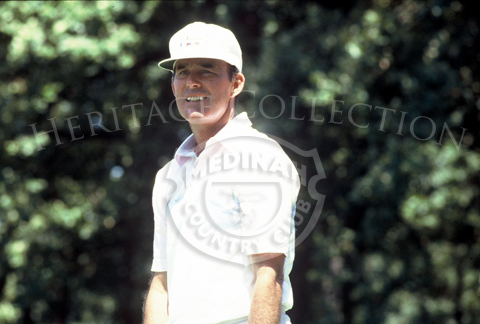 Lou Graham, who won the 75th U.S. Open in 1975 at Medinah Country Club, had a tougher time competing during the Ninth U.S. Senior Open Championship in 1988. At 50-years old, he was the youngest among the leaders, and tied for 8th place with Al Geiberger.