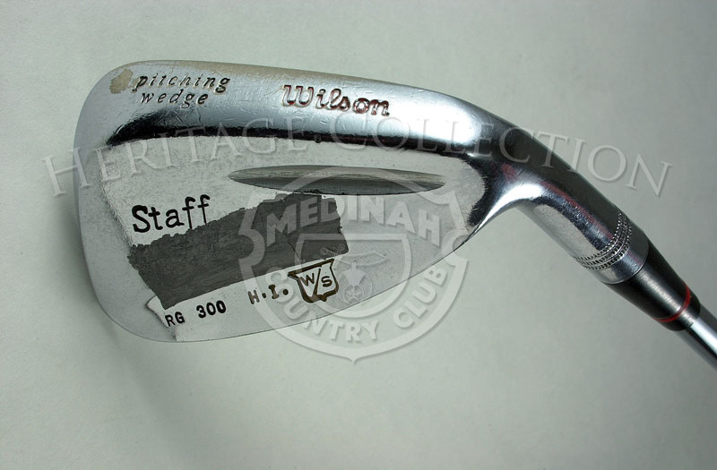 Hale Irwin Pitching Wedge, Wilson Staff, used in the1990 U.S. Open.