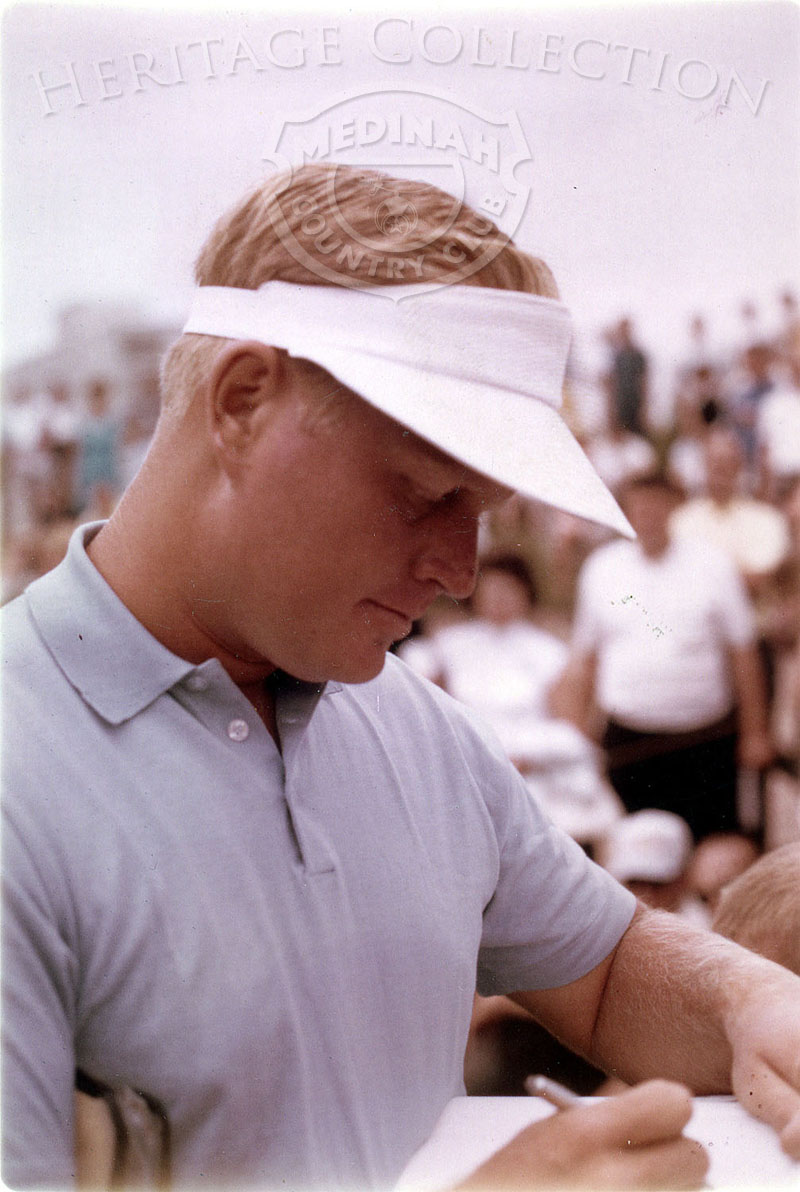 Jack Nicklaus at the 63rd Western Open.