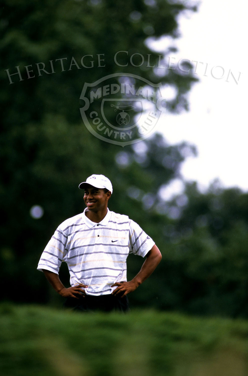Round 1: Tiger Woods: Photographer: Montana Pritchard
