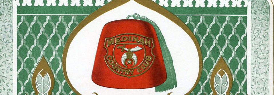 The cover of a publication from Medinah Country Club