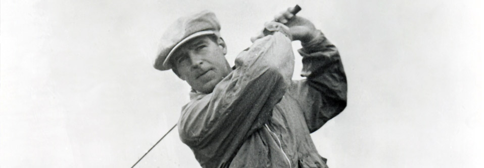 Harry Cooper during the 1930 Medinah Open