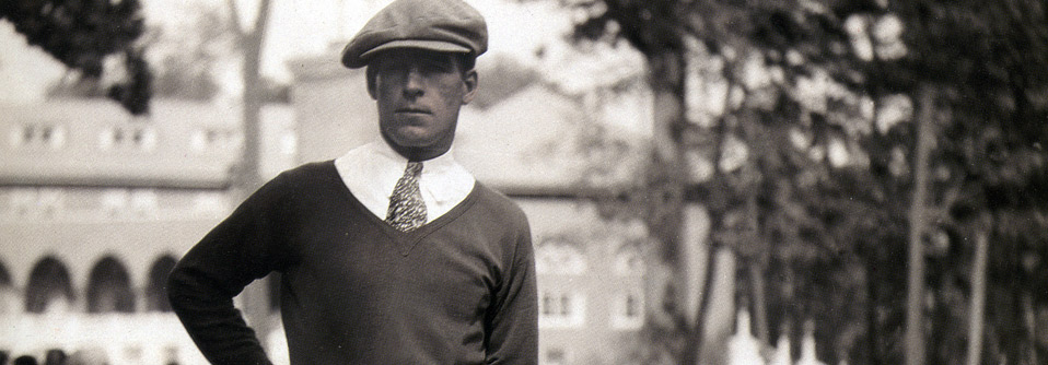 Harry Cooper during the 1935 Medinah Open
