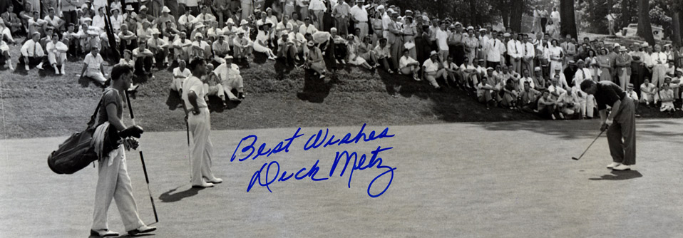 The 1939 Western Open won by Byron Nelson at Medinah Country Club